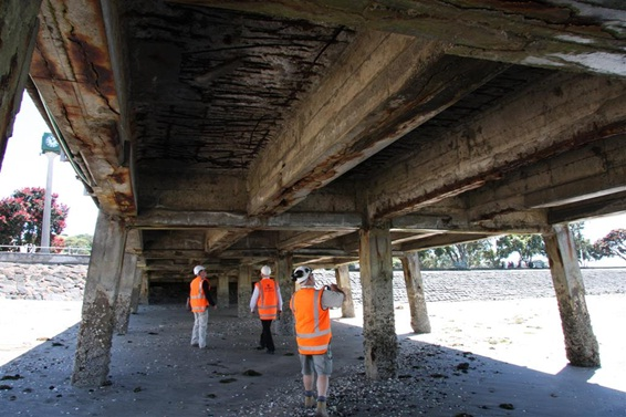 Victoria Wharf Structural Review and Repair