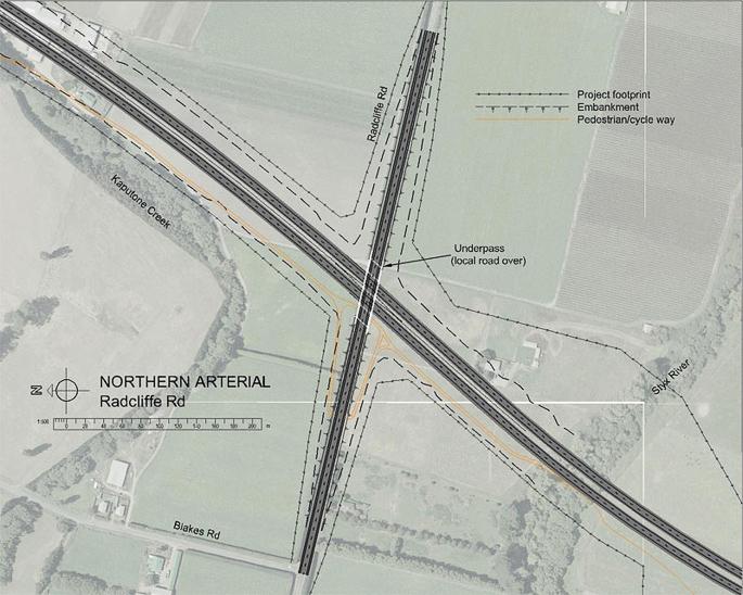 Christchurch Northern Arterial & QE II Drive Four-Laning