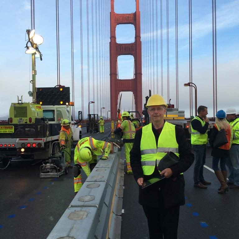 Resolve Group Golden Gate Bridge Moveable Median Barrier