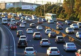 Traffic in Auckland